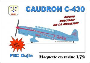 Box art caudron 430