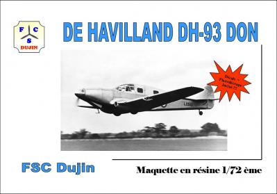 Box art de havilland dh 93