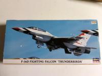 F-16D Thunderbirds, Hasegawa, Injecté, 8 €