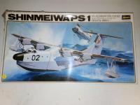 Shinmeiwa PS1, Hasegawa, injecté, 15€