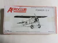 Fokker D.V, Aeroclub, Injecté, 3 €