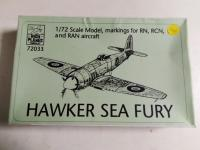 Sea fury, HIPM, Plastique, 8 €