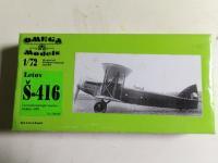 Letov S-416, Omega Model, Résine, 8 €