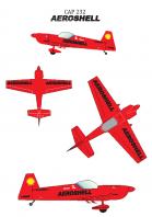 Plan 3 vues 232 aeroshell