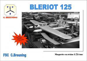Box art bleriot 125
