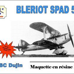 Box art bleriot spad 510