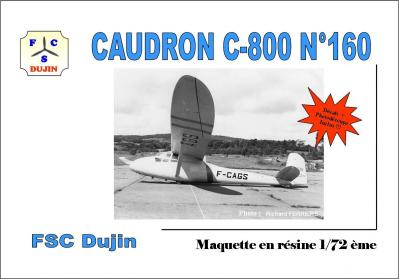 Box art caudron c 800 fcags