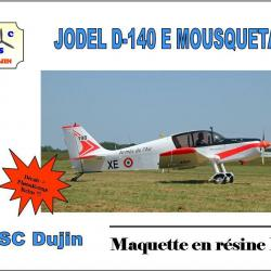 Box art jodel d140 e mousquetaire