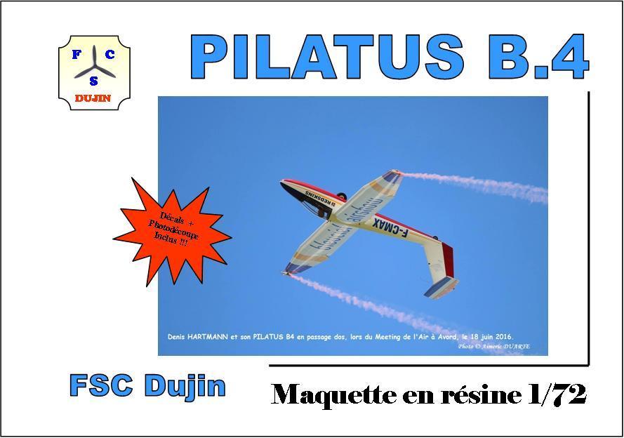 Box art pilatus b4 bleu ciel