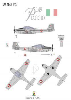 Notice piaggio p149 italie